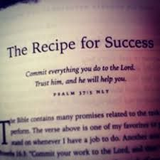 Image result for recipe for success in life