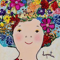 Despertar.Oil on canvas #kiaf2018 #evaarmisen Eva Armisen, Oil On Canvas, Disney Characters, Fictional Characters, Diy And Crafts, Instagram, Disney Princess, Drawings, Flowers