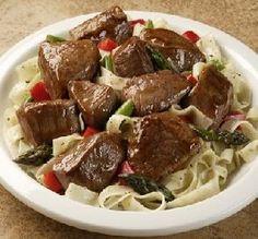 Slow-Cooker Beef Tips: