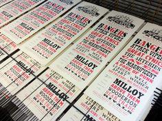 Out Of Spite Twelve Silkscreen Print. http://www.benwhittington.bigcartel.com/
