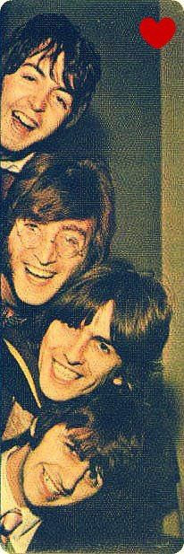 ♥♥J. Paul McCartney♥♥  ♥♥John W. O. Lennon♥♥  ♥♥♥♥George H. Harrison♥♥♥♥  ♥♥Richard L. Starkey♥♥