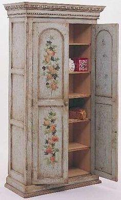 Come dipingere un armadio - Come dipingere un armadio in stile shabby chic