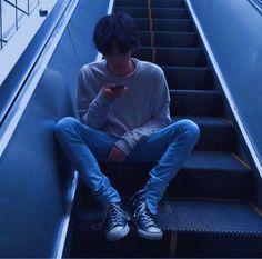 #aesthetic #blue #grunge #theme