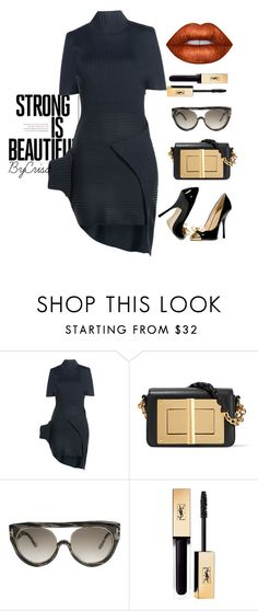 """Untitled #751"" by crisa-gloria-eduardo ❤ liked on Polyvore featuring J.W. Anderson, Tom Ford, Giuseppe Zanotti and Lime Crime"