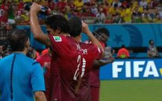 USA - Portugal Match Pauses For First Ever World Cup Water Break | World Cup