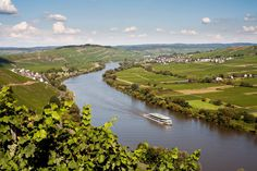 View from the Moselle Valley in Bernkastel-Kues Holiday Region
