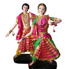 Dancing Dolls-Bharatanatyam  #dancingdolls