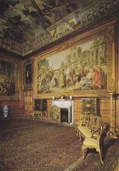 The Queen's Audience Chamber, Windsor Castle, UK