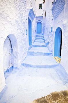 Chaouen, Maroc.