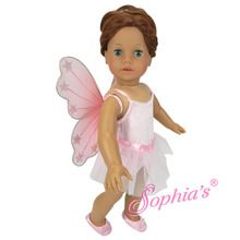 """Fairy costume that fits 18"""" american girl dolls. Use special discount code PIN10"""