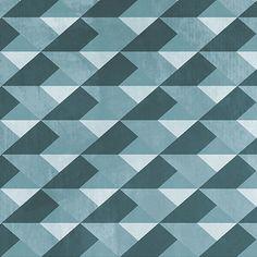 Papier peint Caleidoscopical Blue Diamond