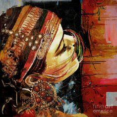 Mahnoor Shah, 1991 | Figurative Abstract painter | Tutt'Art@ | Pittura…