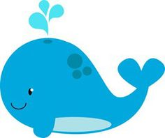 little blue whale clip art free clip art clip art for my boys rh pinterest com Blue Whale Cartoon navy blue whale clipart
