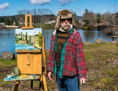 Covered Bridges, Oil Paintings, Oil On Canvas, The Originals, Painted Canvas, Art Oil, Art Oil