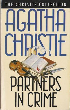 Agatha Christie PARTNERS IN CRIME .Fontana rpt.N/D front cover image