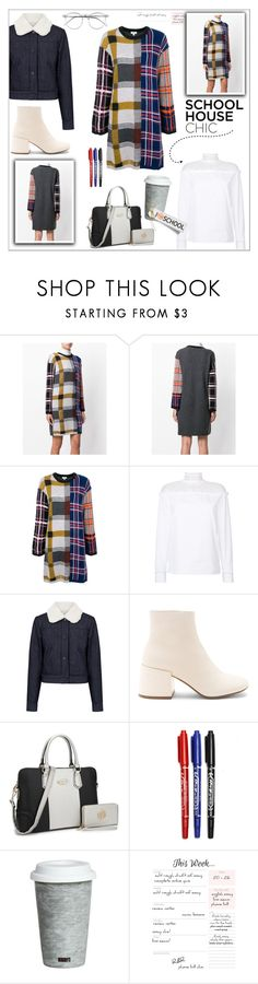 """""""Work Hard, Play Hard: Finals"""" by faten-m-h ❤ liked on Polyvore featuring Kenzo, Valentino, Paul & Joe Sister, MM6 Maison Margiela, Fitz & Floyd, Wildfox and finals"""