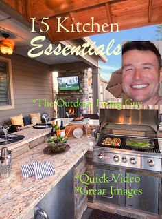 This video is great for those who want good content when planning an outdoor kitchen. Kitchen Board, Happy Valley, Outdoor Kitchens, Great Videos, Kitchen Essentials, Kitchen Items, Building Design, Summer Time, Outdoor Living