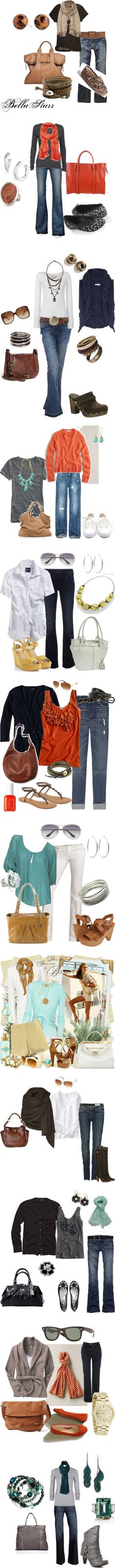 outfit ideas for the fall..yay!