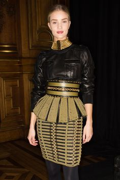 Balmain Fall 2014 Ready-to-Wear Fashion Show Beauty