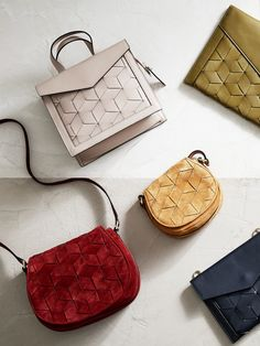 Welden's fall collection of handbags and leather accessories is so gorgeous!