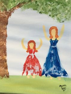 Tree of Grace series - Family by AnniePaintsLove on Etsy