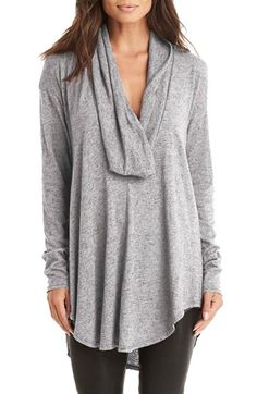 Free shipping and returns on Michael Stars Drape Neck Jersey Tunic at Nordstrom.com. An oversized cowl neck and extra-long curved hem lend this lightweight tunic a beautifully draped silhouette that's perfect for layering.