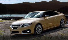 Foreign concept   via saabblog:   9-5 Coupe/Cabriolet designs