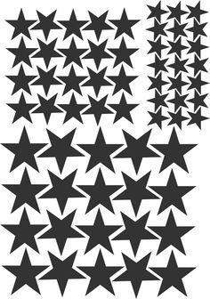 """Vinilo """"Estrellas"""" / Boho Deco Shop"""