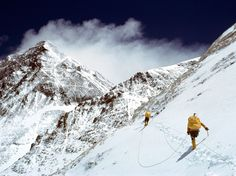 National Geographic was there when the first American team summited Mount Everest in 1963. Two members of the team were also the first to traverse Everest by ascending the difficult western slope and descending the established South Col route.  PHOTOGRAPH BY BARRY BISHOP, NATIONAL GEOGRAPHIC