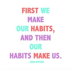 The simple, scientifically proven method for making the habits you want in your life. We've tried this and it works!