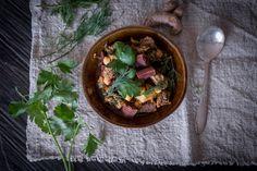 Rindfleisch Eintopf mit Granatapfelmelasse