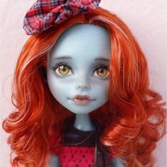 Another one of my most favorite custom dolls; the features are inexplicably beautiful!