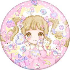 Скороспелый Девочка знак - Phooey МАГАЗИН Kawaii Art, Kawaii Anime Girl, Kawaii Illustration, Anime Child, Kittens Playing, Kawaii Wallpaper, Cute Chibi, Pastel Art, Anime Style