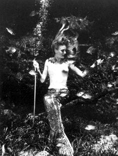 Florida Memory - View of mermaid during performance at Weeki Wachee Springs