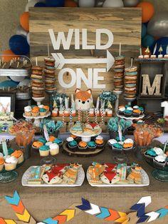 Wild One birthday 1st Birthday Ideas For Boys, Baby Boy 1st Birthday Party, Birthday Themes For Boys, First Birthday Parties, First Birthdays, Otoño Baby Shower, Wild One Birthday Invitations, Twins, Cake