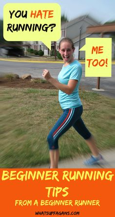 These are awesome beginning runner tips from someone who hates running, and totally gets it. I hope these running tips will help me become a runner. #Exercise