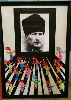 Atatürk project work - New Deko Sites Christmas Door Decorations, School Decorations, Preschool Art, Preschool Activities, International Children's Day, Reading Themes, Act For Kids, Camping Theme, Halloween Projects