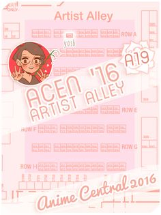 hi guys! i'll be at anime central @ a19 this weekend! please feel free to drop by and chat! i'll also be posting travel and con snaps to my story at GRISEJOIE to share my experience (ミ≧◡≦ミ)