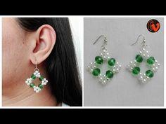 3ed4b5c5505e How to Make Beaded Earrings   DIY   Beginners