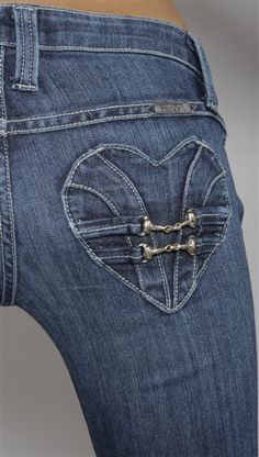 Denim - pocket design -   Pocket of my heart