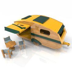 Classic Pickup Camper