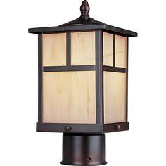Maxim Lighting Coldwater 1-LT Outdoor Pole/Post Lantern & Reviews | Wayfair