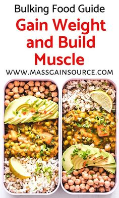 Vegan recipes for weight loss. Check out these high protein vegan recipes for those on a fitness journey, trying to improve their health and lose weight. Vegan Recipes for Weight Loss Healthy Meal Prep, Healthy Dinner Recipes, Vegetarian Recipes, Vegan Meals, High Protein Vegan Recipes, High Protein Low Carb, Protein Foods, High Protein Vegan Breakfast, Vegan Weight Gain