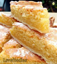 Lemon Frangipane. This is a really nice coffee time cake to make. Goes great with a nice cuppa! Or you can have as a dessert, warm or cold with a squirt of whipped cream or like me, a blob of vanilla ice cream! It's really yummy!  Delicious!