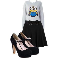 A fashion look from June 2015 featuring gray sweatshirt, mini skirts and high heel pumps. Browse and shop related looks. High Heel Pumps, Pumps Heels, Donna Karan, Grey Sweatshirt, Polyvore Fashion, Mini Skirts, Fashion Looks, My Style, Sweatshirts
