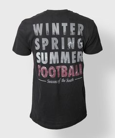 Seasons of the South T-shirt. Winter. Spring. Summer. Football. #AggieStyle #AggieSpirit #AggieGifts