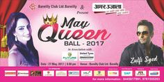 #Bareily #PiyaSharma #ZulfiSyed #Bollywood #Actors #SecondTime #Event #Artist #VentomNetwork #Entertainment  Come & Lets Roll This #MayqueenBall 27 May 2017 #ShankyRSGupta