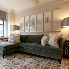 19 Inspiring Gray velvet sofa images | Armchair, Antique furniture ...