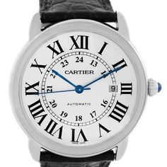 Cartier Ronde Solo Automatic Stainless Steel Mens Watch W6701010