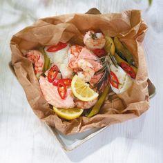 ESSEN & TRINKEN - Fischpäckchen Rezept